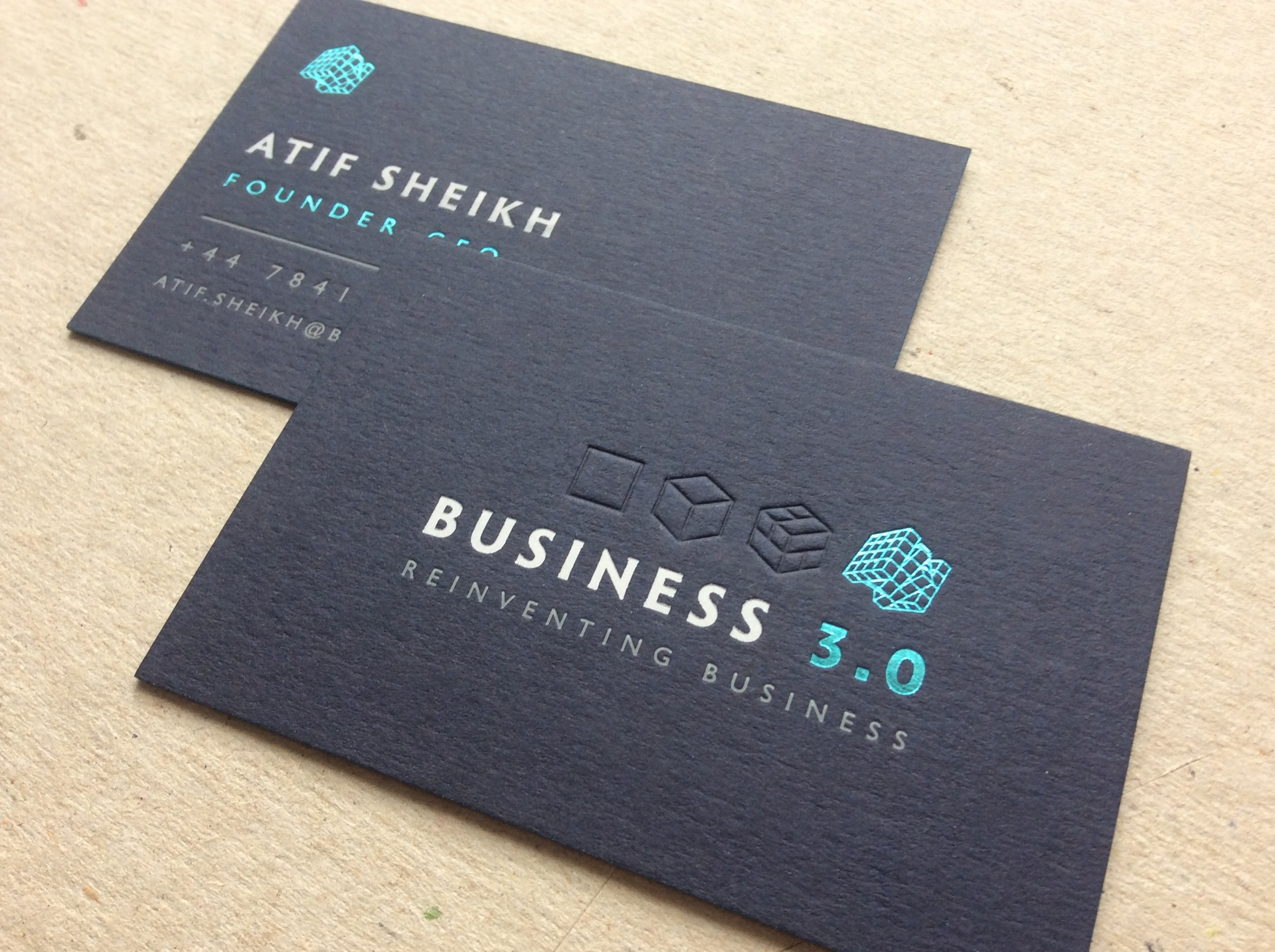 david ward printing bespoke business card specialists